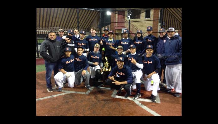 New York Nine Wins Tournament!