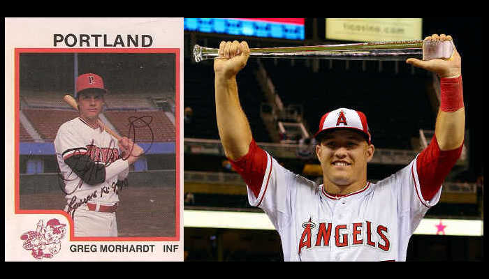 Mike Trout Greg Morhardt